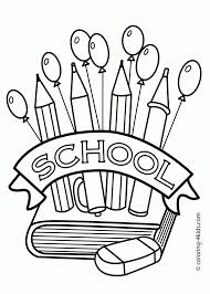 building coloring page classes coloring page for kids