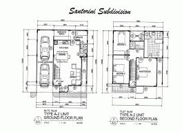 two storey residential floor plan surprising floor plan for two storey house in the philippines photos