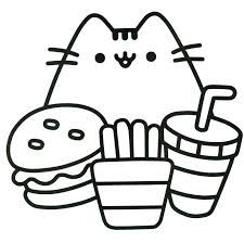 94 Best Pusheen Coloring Book Images On Pinterest Coloring Books Coloring Book Page