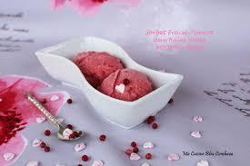 fraiser en cuisine sorbet fraise et yaourt aux baies roses octobre ma cuisine