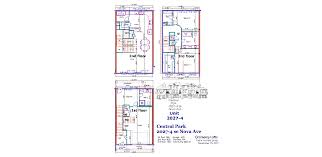Central Park Floor Plan by Loft Central Park 3 Bed 1410 U2014 Taylor Homes Group