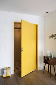 half painted wall door at the lake interiors pinterest