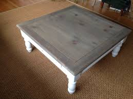 grey washed end tables coffee table gray wash large square rustic coffee tablegrey table