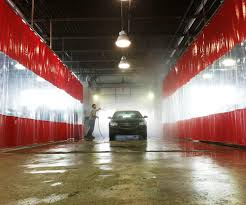 Industrial Curtain Wall Custom Body Shop Curtain Walls Auto Body Work Stations