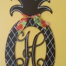 Door Monogram Decoration Shop Decorative Monogram Door Hangers On Wanelo