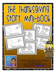 thanksgiving story books the thanksgiving story mini book by c c teach with