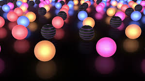 string of lights and snow animation stock footage