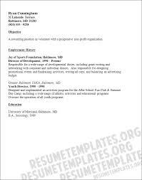 Job Experience On Resume by Volunteer Resume Samples Berathen Com