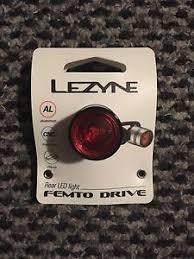 lezyne femto drive bike lights lezyne femto drive led rear light for bike ebay