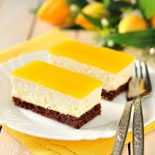 cuisiner mangue recette entremets à la mangue et chocolat sans cuisson facile