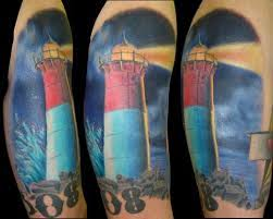Lighthouse Tattoo Ideas Lighthouse Tattoo Designs Ideas And Meanings Tatring