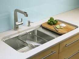kohler surface kitchen sink new single basin sinks prologue