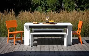Outdoor Furniture Made From Recycled Materials by Garden Bench Contemporary Polyethylene Made From Recycled