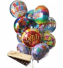 birthday balloon bouquets by gifttree