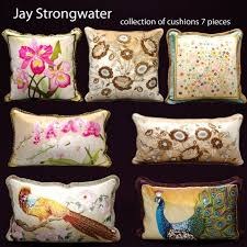 strongwater pillows 3dexport 3d cad model