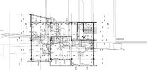 Blueprint Homes Floor Plans Abstract Architecture Background Blueprint House Plan With Sketch