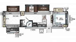 Rockwood Trailers Floor Plans Rockwood Signature Ultra Lite 8326bhs Travel Trailer Floor Plan