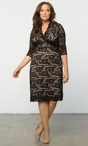 Lane Bryant Formal Wear Plus Size Lace Dresses Scalloped Boudoir Lace Dress By Kiyonna