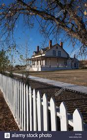 usa north dakota mandan fort abraham lincoln state park custer