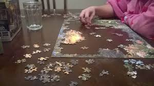 Jigsaw Puzzles Tables How To Assemble Jigsaw Puzzles 13 Steps With Pictures Wikihow