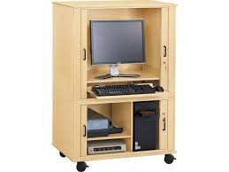 Locking Computer Armoire Best Computer Armoire