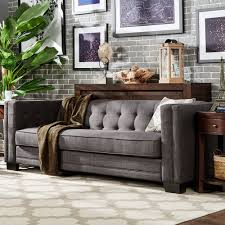 Tufted Sofa Cheap by Gray Tufted Sofa Threshold Tufted Sofa Dunes Gray With Gray