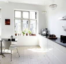 modern kitchen without cabinets modern kitchen in white color without cabinets