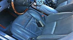 Upholstery Car Repair Mercedes S Class Seats Upholstery Repair In Los Angeles Youtube