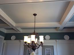 add some interest to a room by painting the ceiling a different