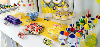 minions party ideas kara s party ideas minions themed birthday party planning decor
