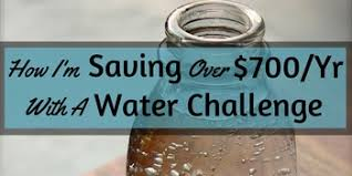 And Water Challenge How I M Saving 700 Year With A Water Challenge Notorious