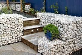 Gabion Retaining Walls Stone Wall Ideas Gabion Aus - Rock wall design