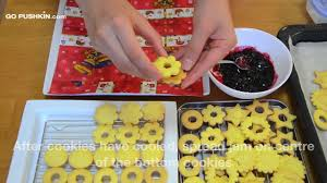 recipe czech linzer cookies linecke kolacky youtube
