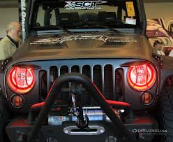 jeep lights amazing innovations let there be lights drivingline
