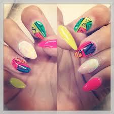 funky gel nail designs gallery nail art designs