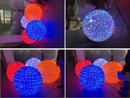 outdoor lighted balls part 34 yellow
