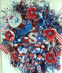 8 best patriotic door wreaths and garland 4th of july wreath