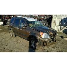 honda crv parts 2004 2004 honda cr v parts car gold with interior 4 cylinder