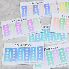 To Do Stickers Kindakookie Todo Task List Colourful Diary Journal Planner Stickers