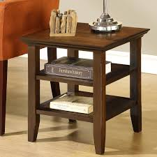 small narrow end table walnut cherry and maple solid wood accent
