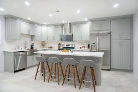 white and grey kitchen cabinet designs stylish design ideas with cool grey shaker cabinets in 2020