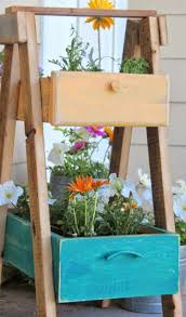 creative ways to turn old drawers into planters recycled things