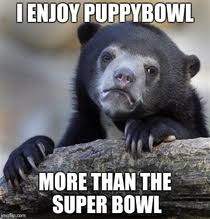 Superb Owl Meme - as a brit this is my level of understanding of the superbowl meme guy