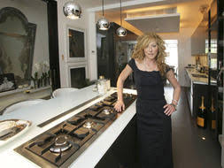 Kelly Hoppen Kitchen Design Taupe To Toe Queen Of Cream U0027s Chic Pad Property Life U0026 Style