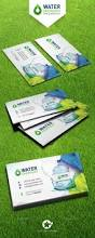 drinking water service business card templates by grafilker