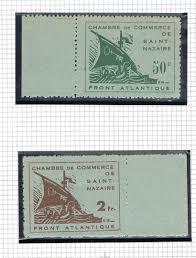 chambre de commerce nazaire timbres libération chambre de commerce villers collections