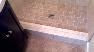 install a tile shower in a small bathroom youtube