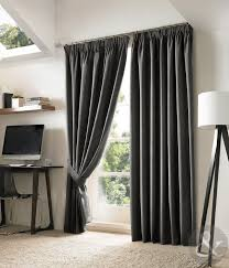 black and grey curtains new blackout curtains luxury fully