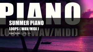 summer piano loops sample pack piano loops piano samples