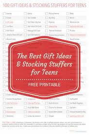 100 christmas gift ideas for teens